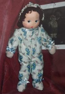 vintage doll repair
